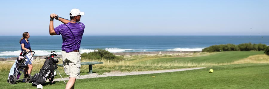 jouer au golf à anglet
