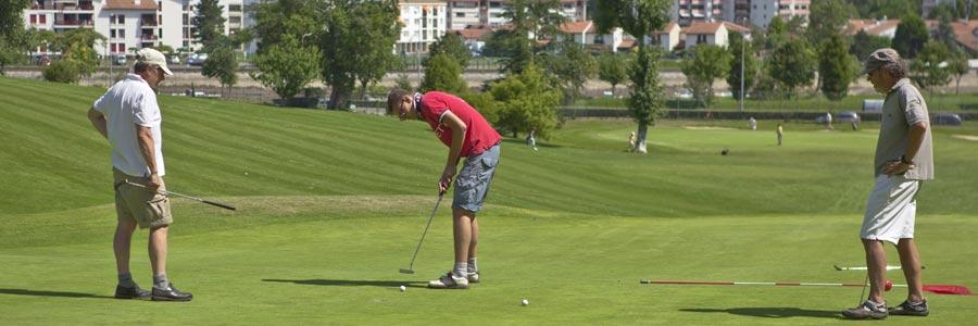 ciboure entrainement golf