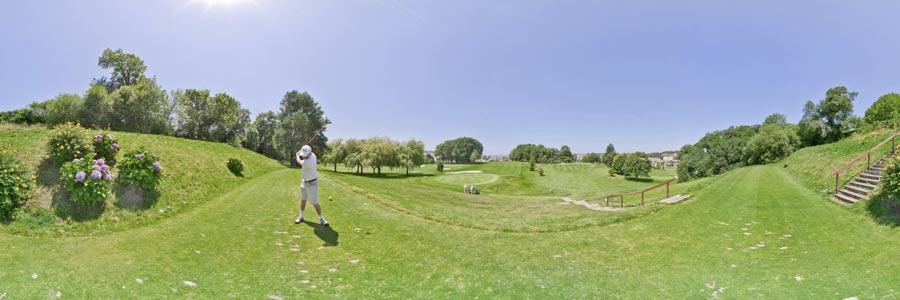 ciboure jouer au golf